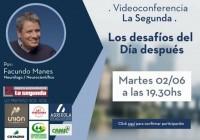 Conferencia virtual los desafios del dia despues martes 02/06 19:30hs