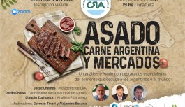 Charla Virtual: asado. carne argentina y mercados