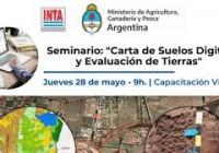 Seminario: Carta de suelos digital y evaluación de tierras