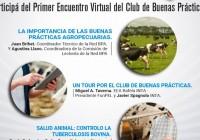 Primer encuentro virtual del Club de las Buenas prácticas Tamberas