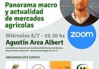 """CONFERENCIA VIRTUAL """"Panorama macro y actualidad de mercados agrícolas."""