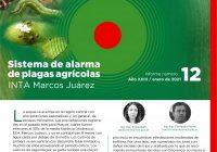 Informe de alarma de plagas con trampa de luz y observaciones de campo – 1/2021