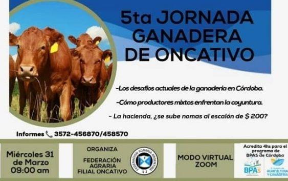 """Jornada On Line sobre """"Los desafíos actuales de la ganadería en Córdoba"""""""