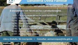 Manejo integral de la ganadería ovina en áreas periurbanas y rurales (5° jornada)