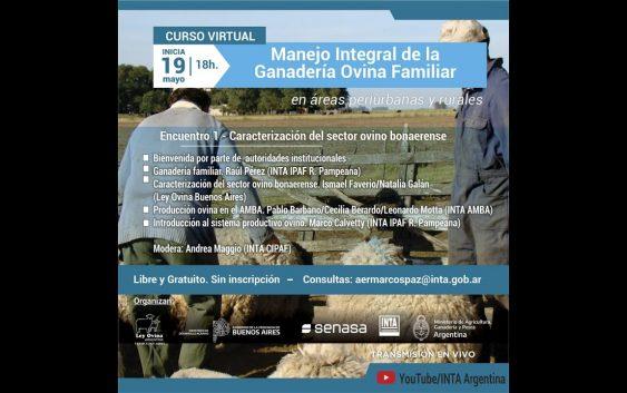 Manejo integral de la ganadería ovina en áreas periurbanas y rurales (3° y 4°jornada)