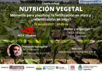 Charla virtual: Momento para planificar la fertilización en maíz y ¿refertilización en trigo?